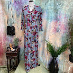 NWT 📌 Nextmia Retro Style Floral Maxi Dress